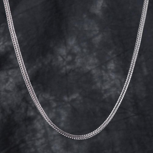 3MM White Gold Franco Chain