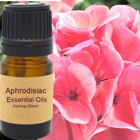Aphrodisiac Essential Oils Synergy Blend. - Wild Harvested Steam Distilled