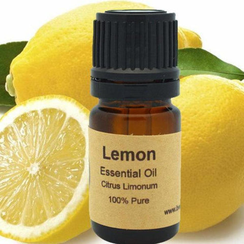 Lemon Essential Oil - Cold Pressed