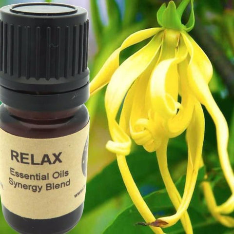 Relax Essential Oils Synergy Blend. - Wild Harvested Steam Distilled