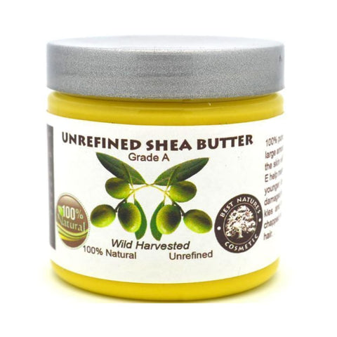 Shea Butter Unrefined Yellow - Natural Organic