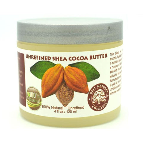 Unrefined Shea Cocoa Butter - Natural Organic