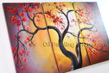 Beautiful Contemporary Wall Art Landscape Painting Tree Tree Paintings