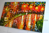 Astonishing Contemporary Wall Art Landscape Painting Interior Design