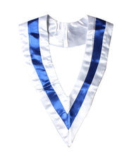 Load image into Gallery viewer, Unisex Plain Graduation Two-Colored V Stole Choir Stole
