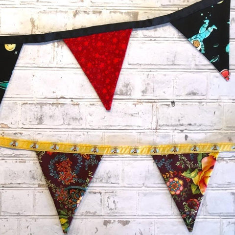 Deck/Party Bunting: Intro to Sewing