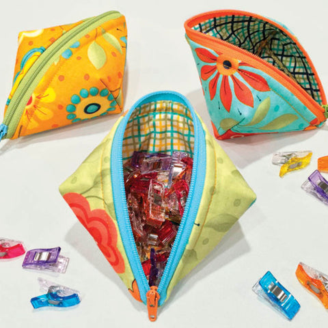Sew Zippers: Sweetpea Pods