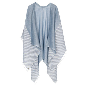 Patan Chambray Beach Cover Up