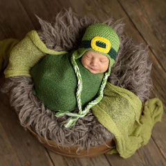 Little Leprechaun Baby and Toddler Hat icon