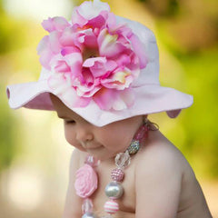Princess Peony Baby and Toddler Girl Sun Hat icon