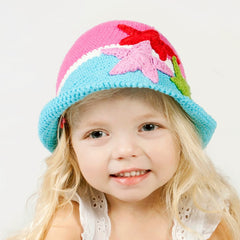 Starfish Knit Baby and Toddler Girl Hat icon