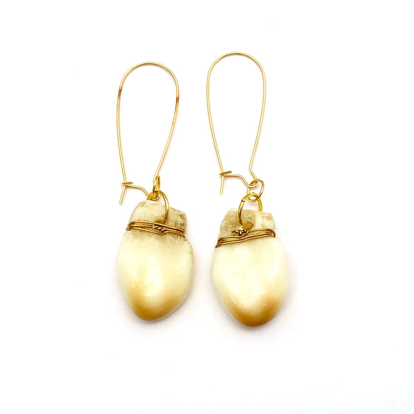 Elk Teeth Earrings