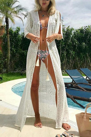 Sexy Bikini Vacation  Sunscreen Cover Ups