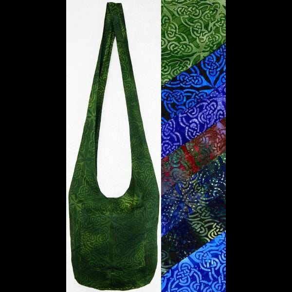 Premium Celtic Batik Boho Shoulder Bag-Celtic-Peaceful People