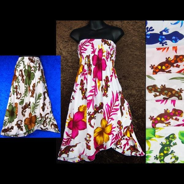 Wild Gecko Convertible Dress/Skirt-Dresses-Peaceful People