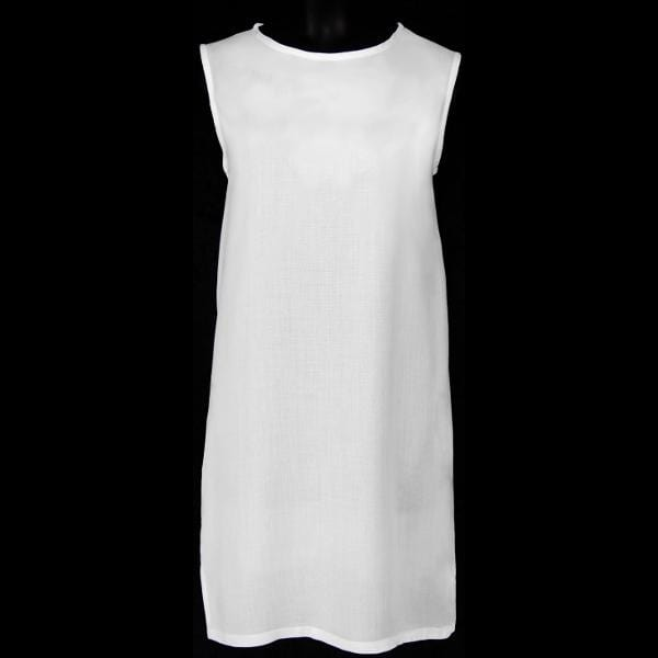 Girl's White BB Dress (Ages: 4, 6, 8, 10, 12)-Dresses-Peaceful People