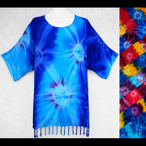 Tie-Dye Pullover Shirt-Tops-Peaceful People