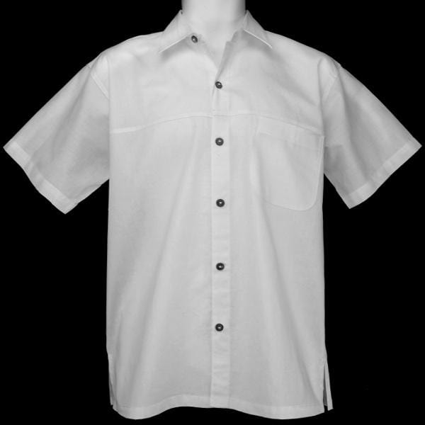 Cotton Sunray Short-Sleeve Shirt-Shirts-Peaceful People