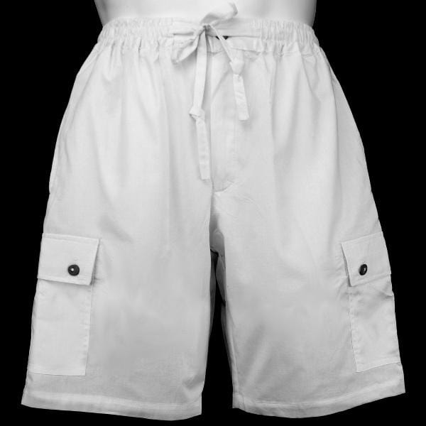 Cotton White Shorts-Pants-Peaceful People
