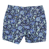 JOHN short Floral Canvas Navy