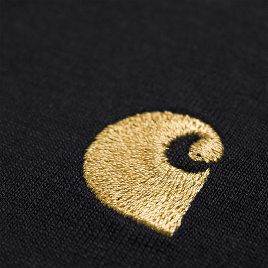 Carhartt WIP -  Chase T shirt - Black / Gold