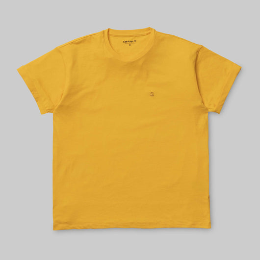 Carhartt WIP -  Chase T shirt - Colza / Gold