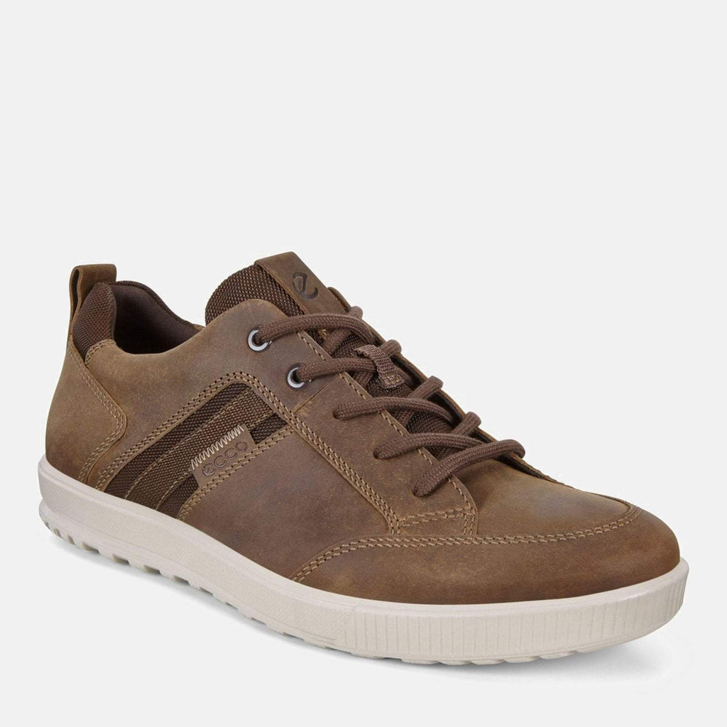 Ecco Footwear UK 7.5 / EU 41 / US 7-7.5 / Brown Ennio 534354 02482 Cocoa Brown - Ecco Men's Brown Loafer Trainer Style Leather Shoes