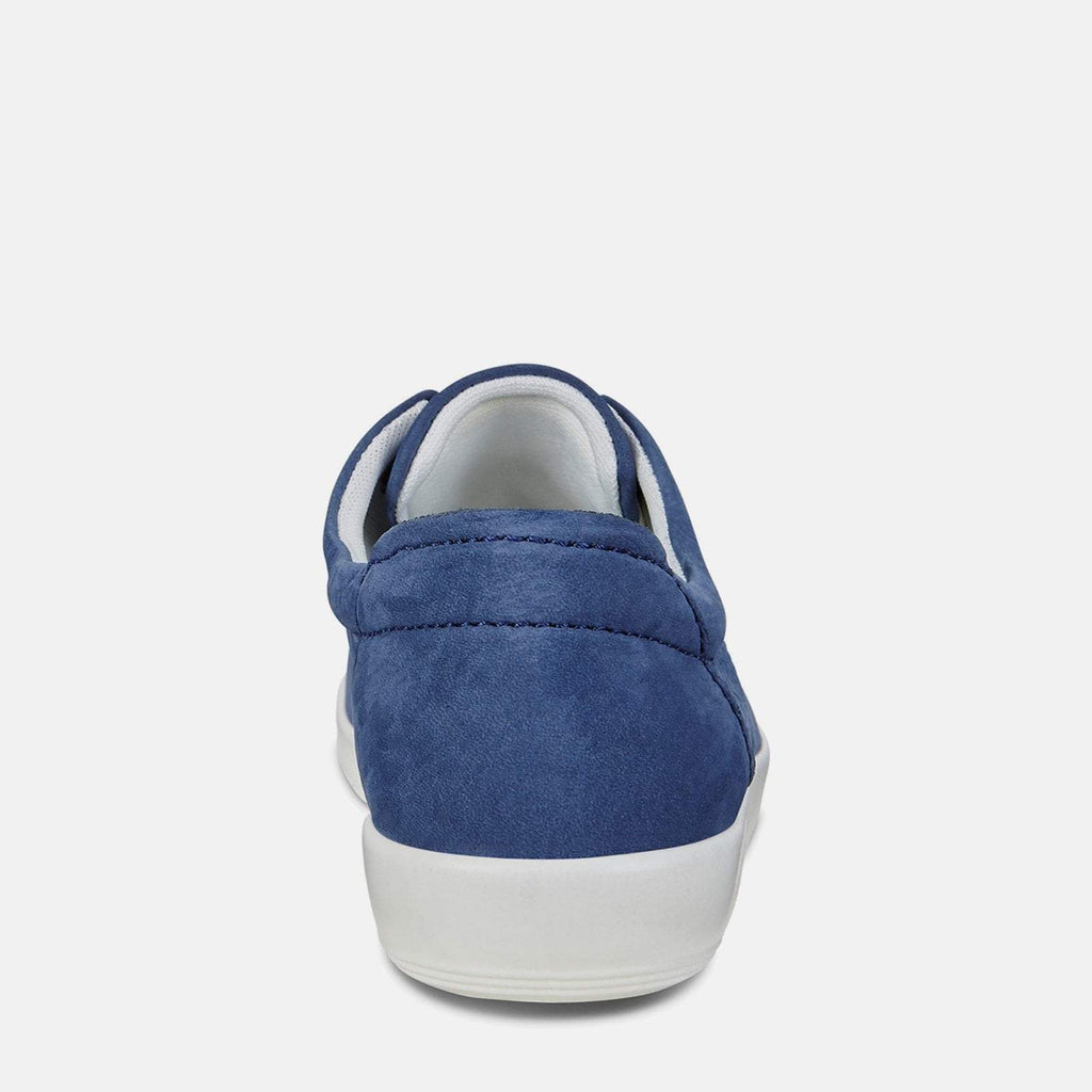 Ecco Footwear UK 3.5 / EU 36 / US 5-5.5 / Navy Soft 2.0 206503 02048 True Navy - Ecco Navy Blue Soft Leather Ladies Trainers