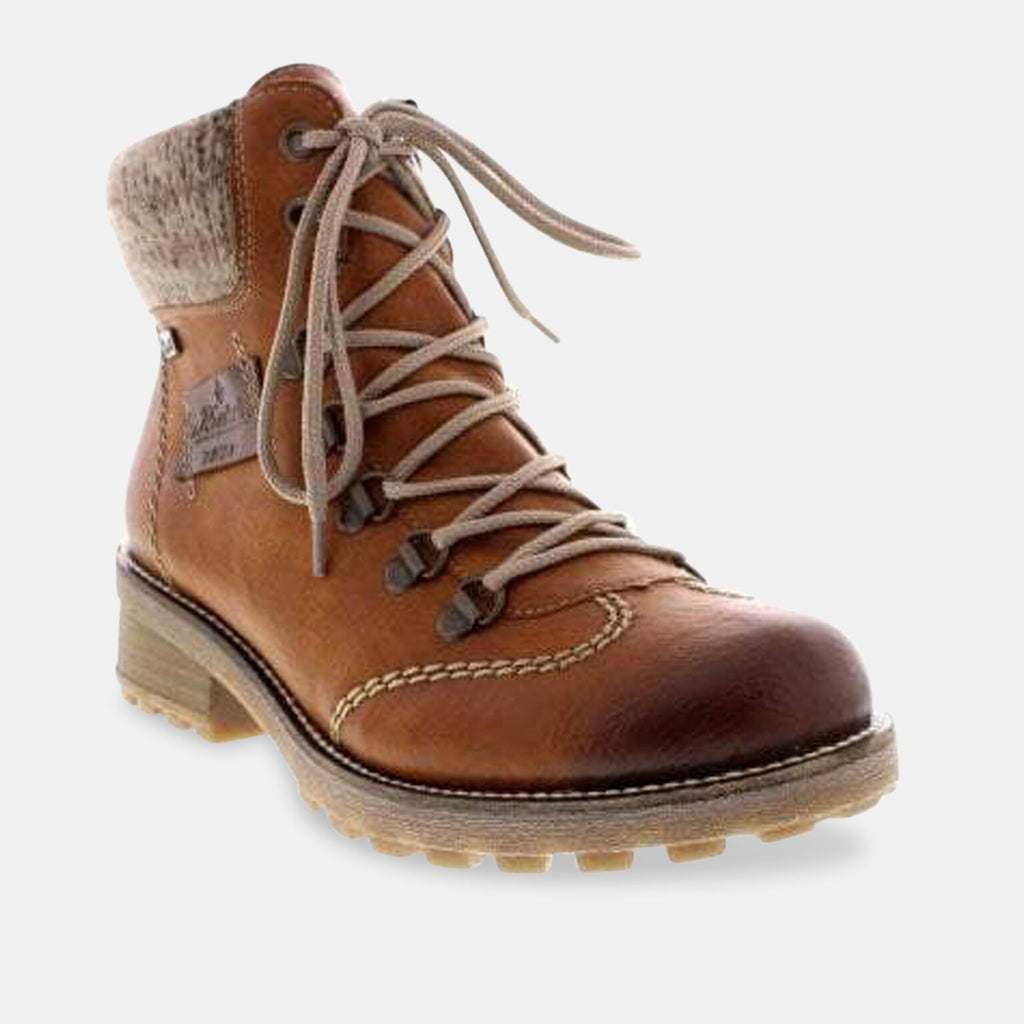 Rieker Footwear UK 3.5 / EU 36 / US 5.5 / Brown Rieker Z0444-24 Brown Combination 'Tex' Ankle Boots