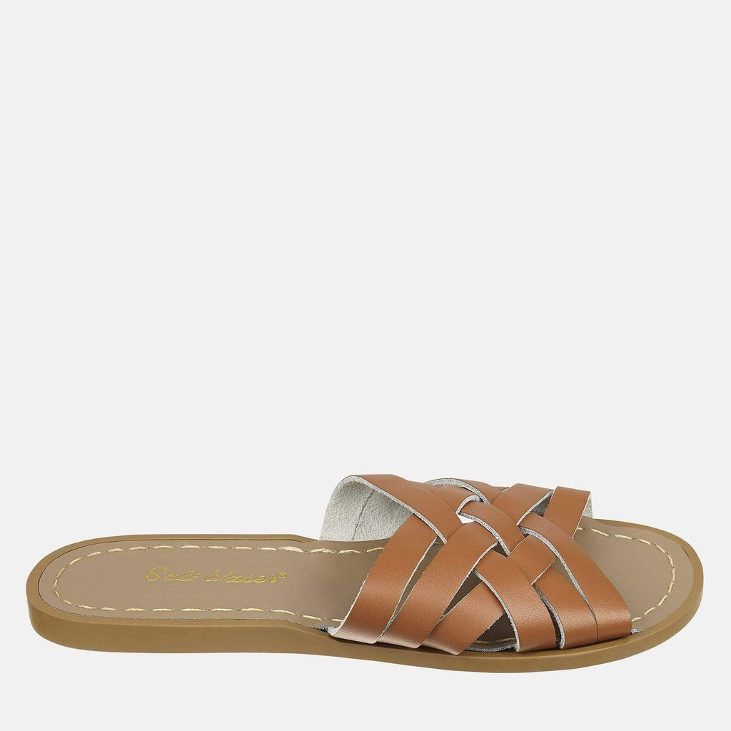 Salt-Water Footwear 3 UK / 4 SW / 36 EU / 6 US / Tan Salt-Water Retro Slide Tan