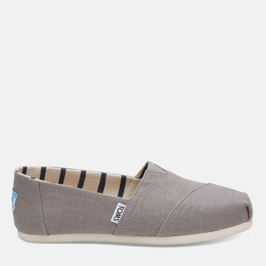 TOMS Footwear 3L / Morning Dove Heritage Canvas Women's Alpargata Espadrille Morning Dove Heritage Canvas