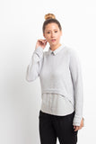 PEREZ WOMEN SWEATER   CASHMERE SILK