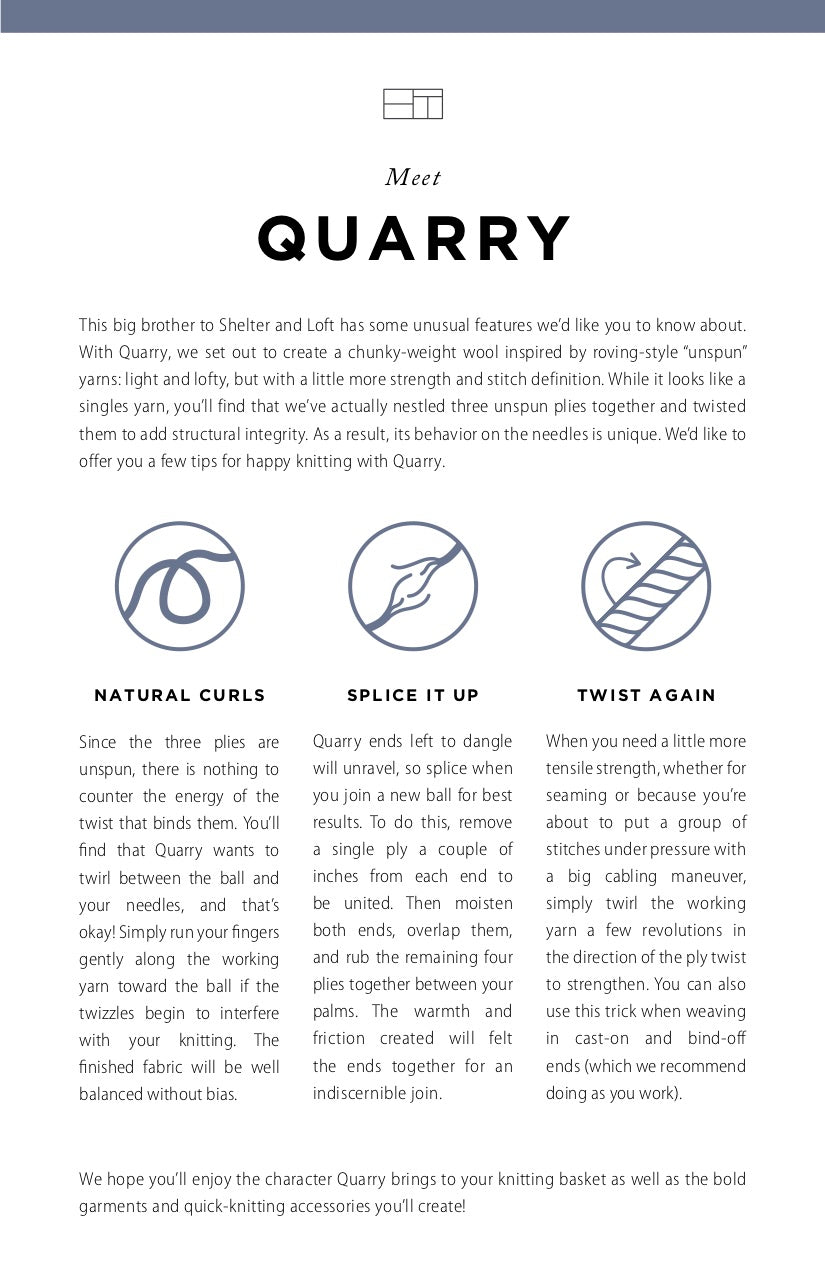 Quarry Tip Card