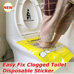 Buy More Save More!!!Toilet Disposable Sticker Plunger