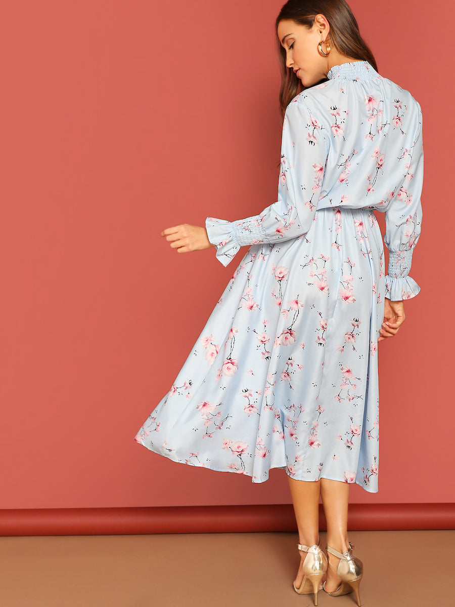 FLORAL - Robe