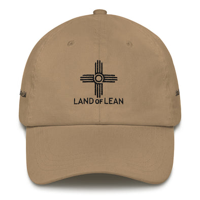 Land of Lean Dad Hat - (Black Zia)