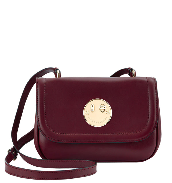 Hill & Friends Oxblood Happy Bag