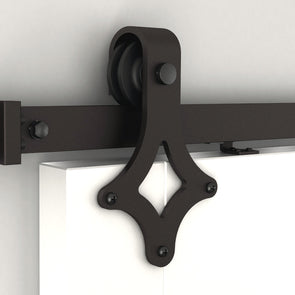 "Ace is a classic shape in soft close bar door hardware , with standard rail lengths from 60"" to 156"""
