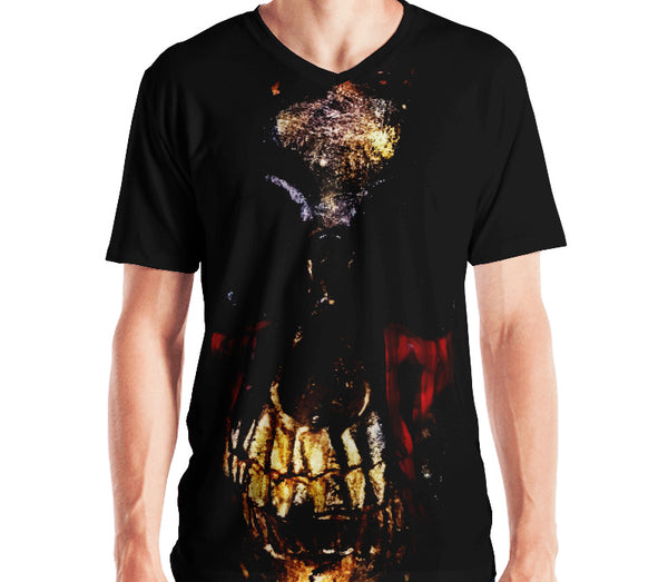 Death Bling Premium 360 V-Neck Tee