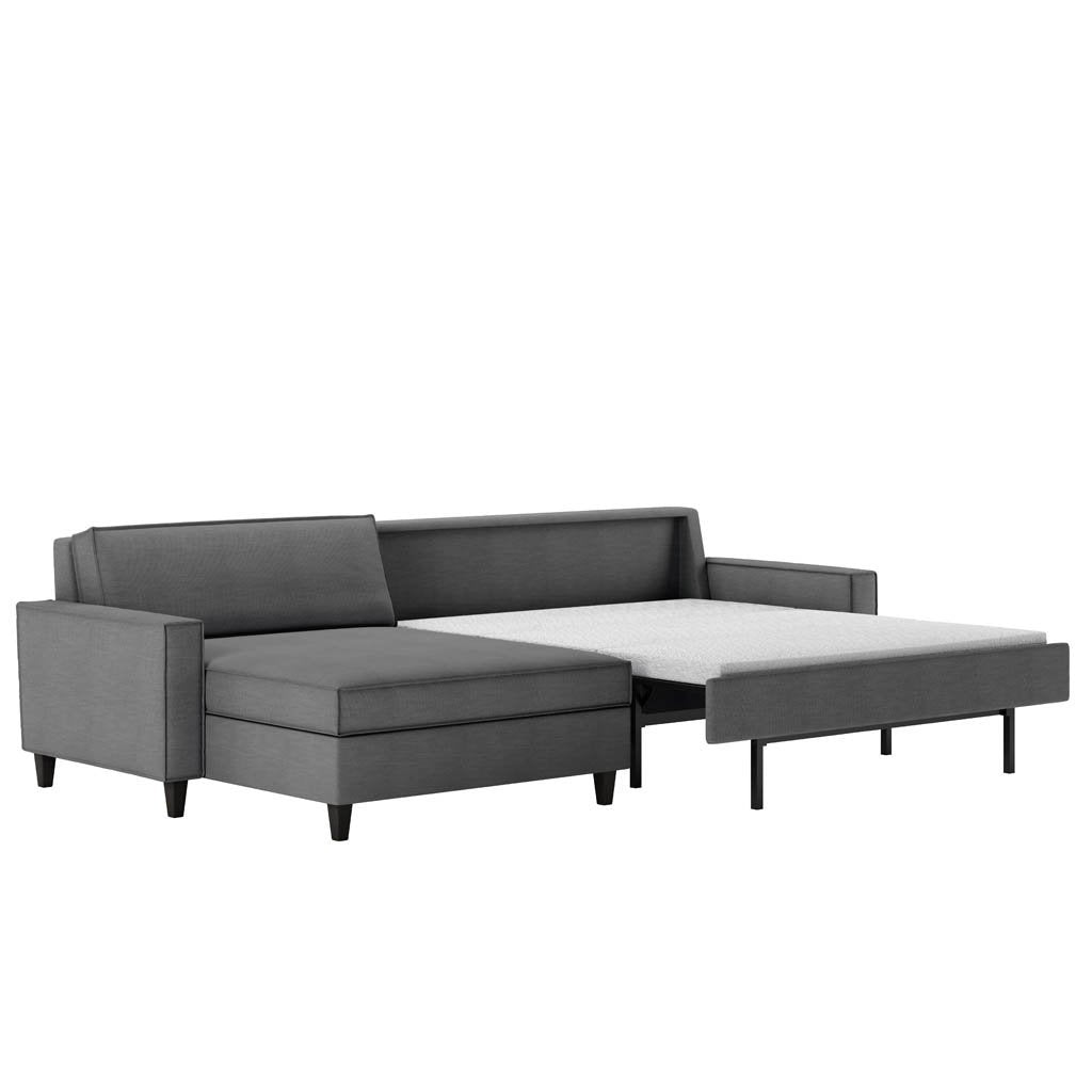 Mitchell Comfort Sleeper Sectional Sofa by American Leather