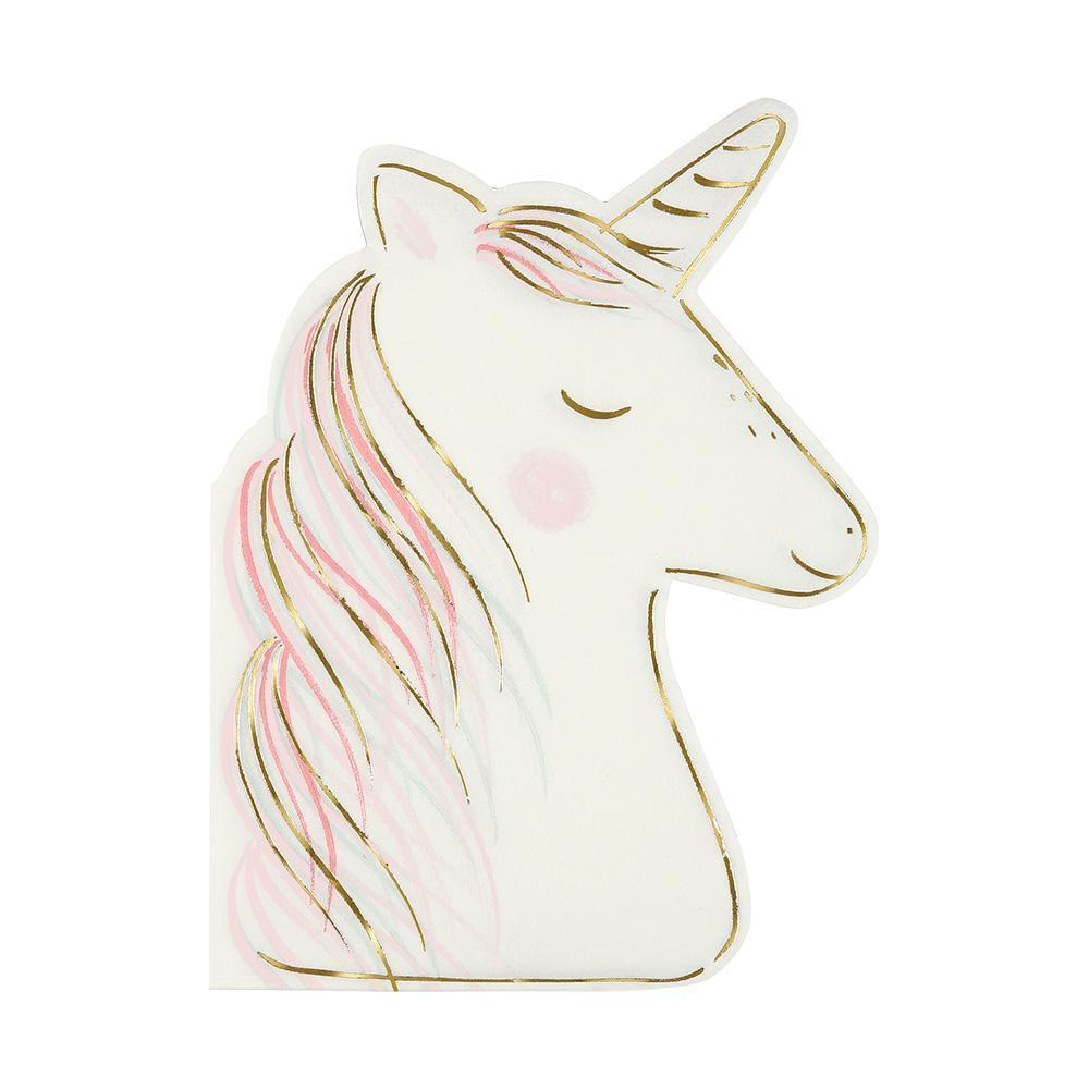 Unicorn Napkins - Pack of 16