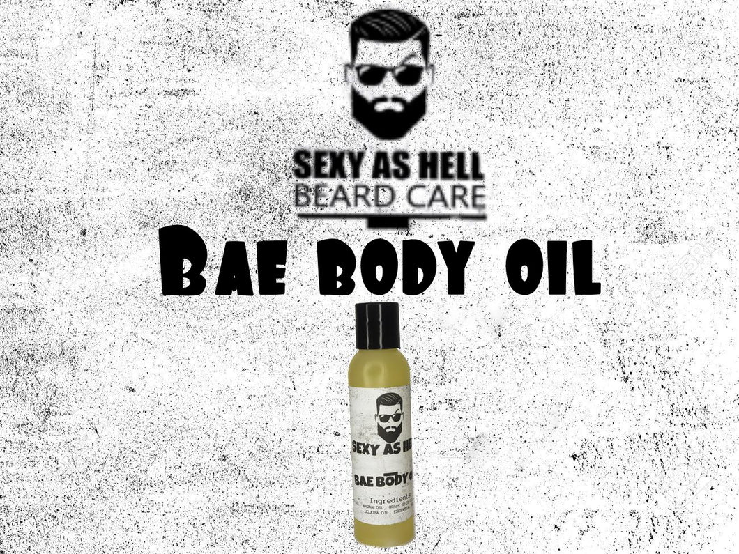 SEXY AS HELL BAE BODY OIL
