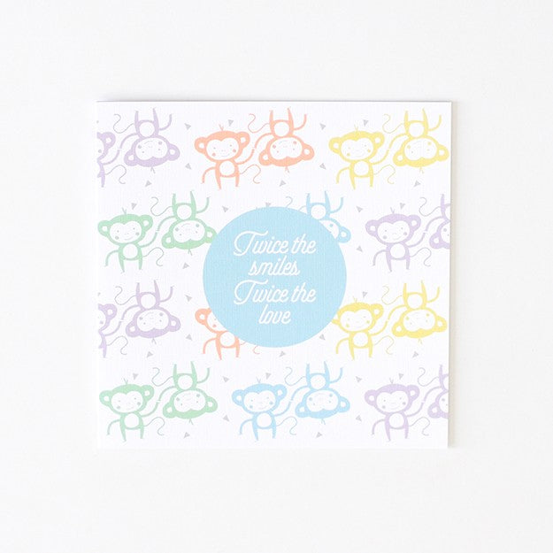 Small Greeting Card - Blank - Confetti