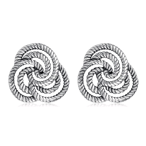 Braided Handmade Ethnic Knot Earrings For Women Wholesale Design