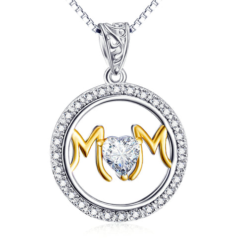 Mom Day Gift Necklace Factory 925 Sterling Silver Jewelry For Gift