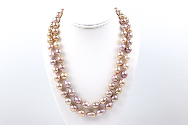 champagne masterpiece chinese freshwater necklace