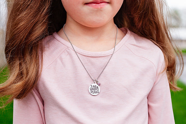 Have Courage and Be Kind {Youth Necklace}
