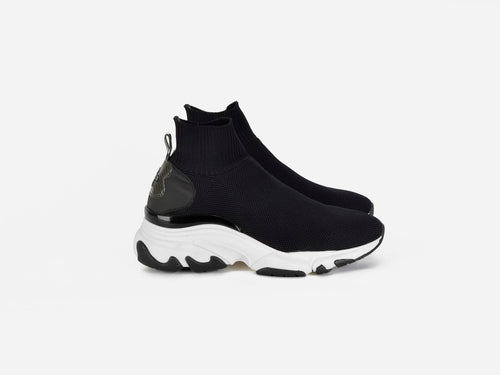 Ryder Black sock runner sneaker