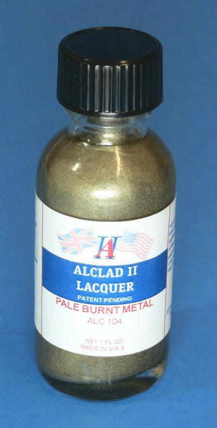 Alclad ALC104 1oz Pale Burnt Metal Paint