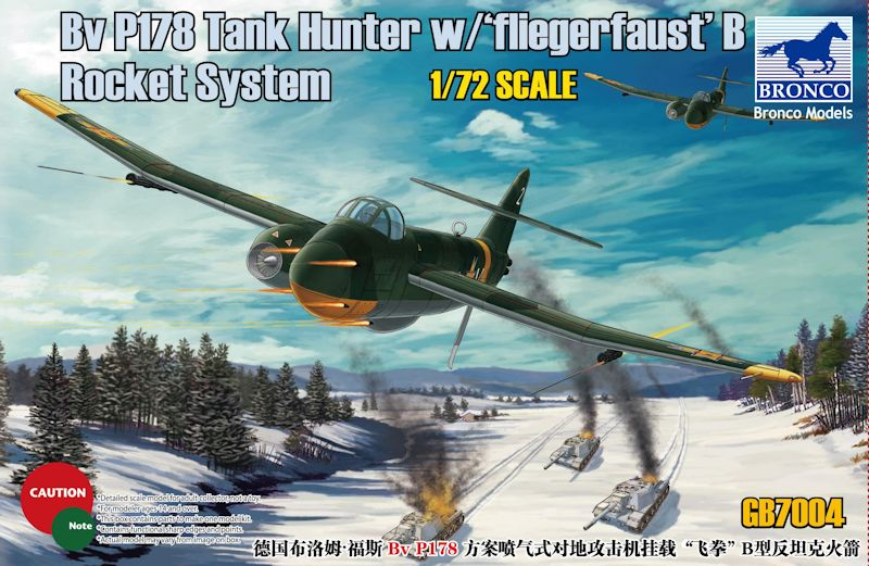 Bronco 1/72 Bv P178 Tank Hunter w/